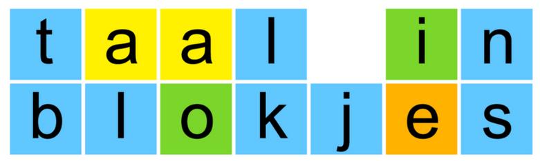 taal in blokjes